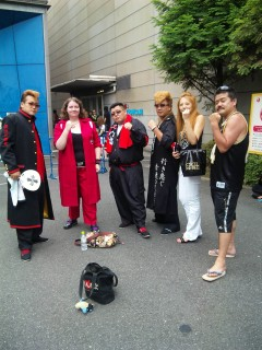Me ans some more cosplayers