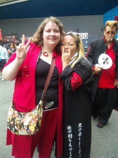 Me and ...er.... one cosplayer
