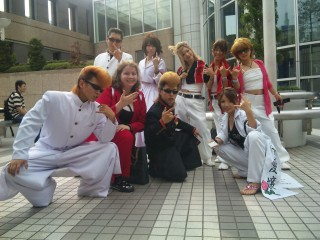 Kishidan cosplayers