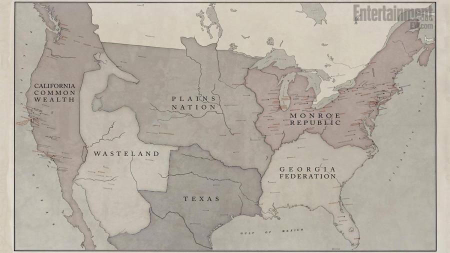 Revolutions map