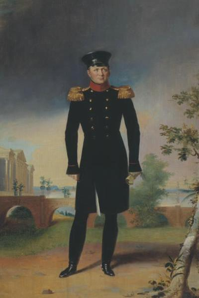 Alexandre 1820-е нач Доу Рыбинск