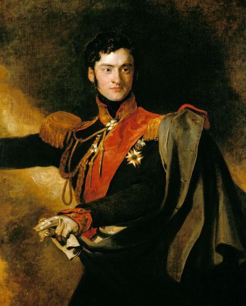 Чернышев Александр Иванович 1818 Лоуренс Коллекция королевской брит семьи