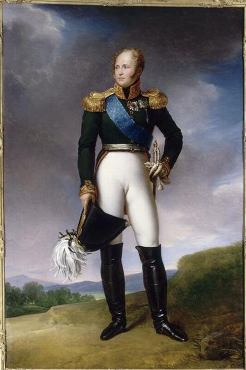 Alexandre 1814 Жерар Мальмезон