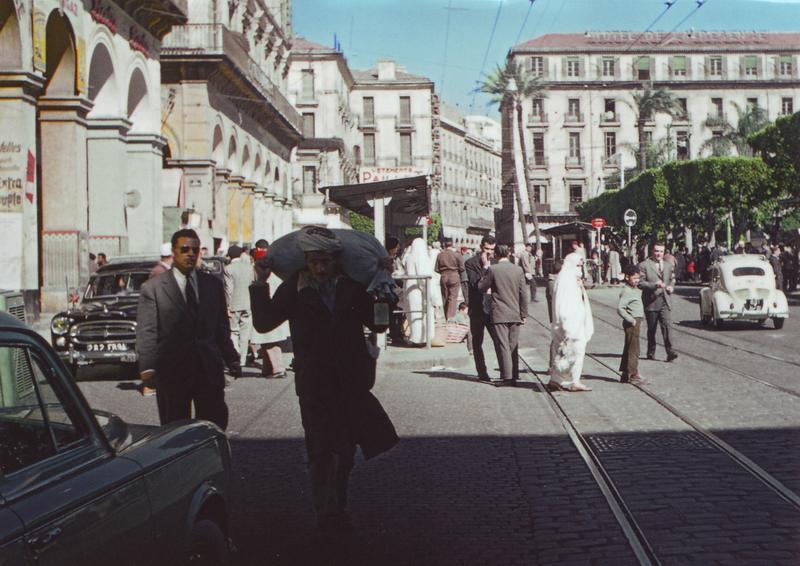 07 Алжир Пл Правительства 1959  Роже Блан