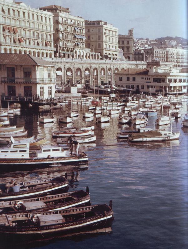 08 Алжир порт 1960 1961 Фераччи
