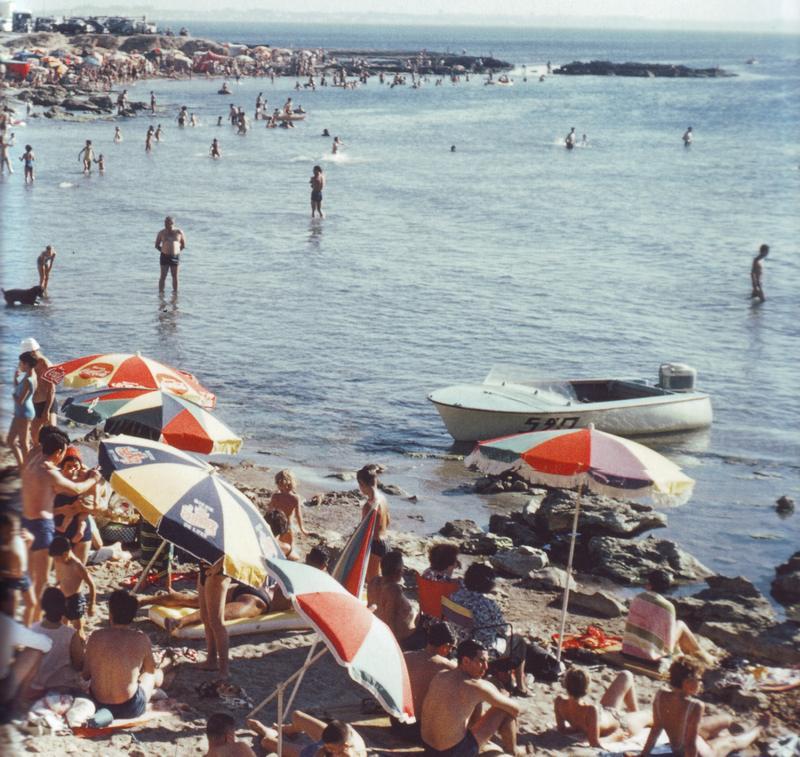 09 Алжир Пляж 1961 Люсьен Берже
