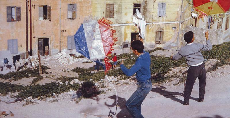 Город Алжир дети со змеем