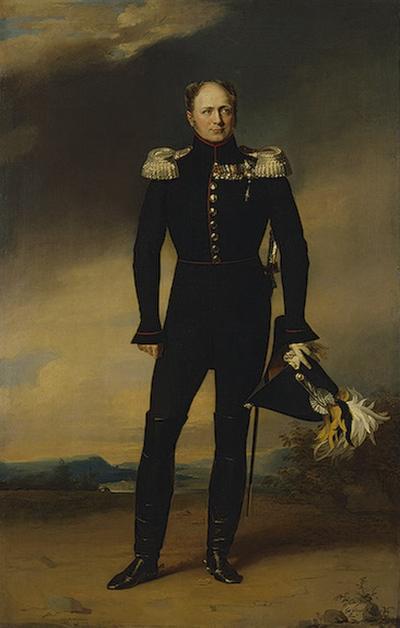 Alexandre 1824 Доу Эрмитаж