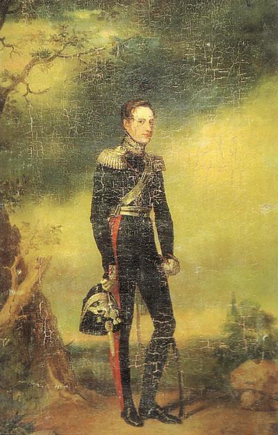 Николай 1828 Доу или копия Рус муз