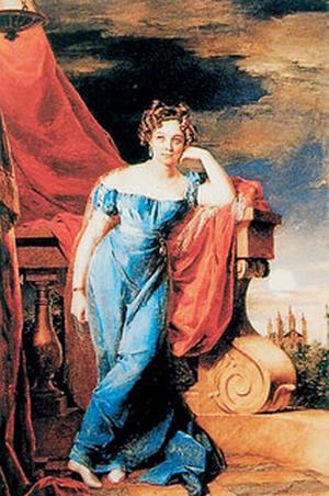 Закревская Аграфена 1823 Доу галерея Лахмана Кельн