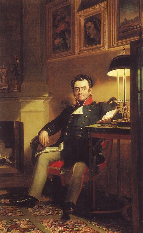 Шувалов Павел Андреевич 1826 до Доу рус муз