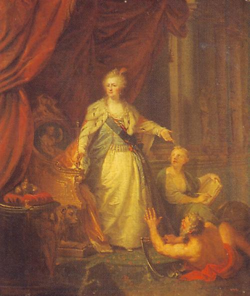 Catherine 1793 до Лампи ЭРус муз
