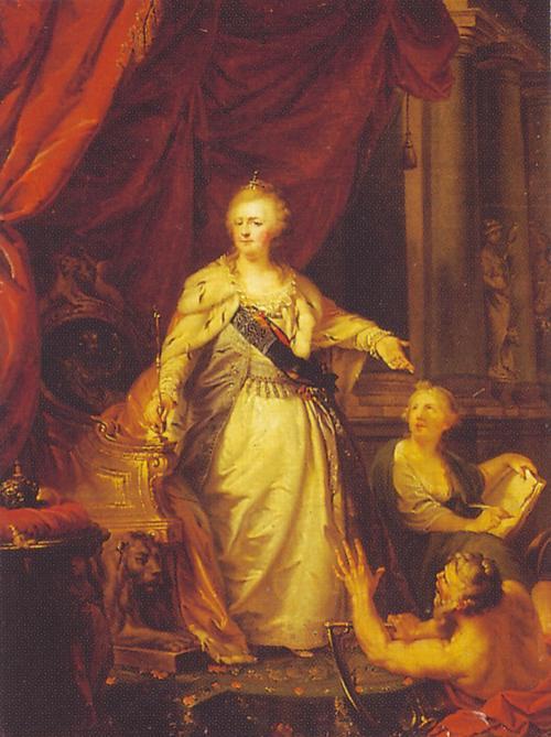 Catherine 1796 Анисим Белоусов ор   Лампи Рус муз