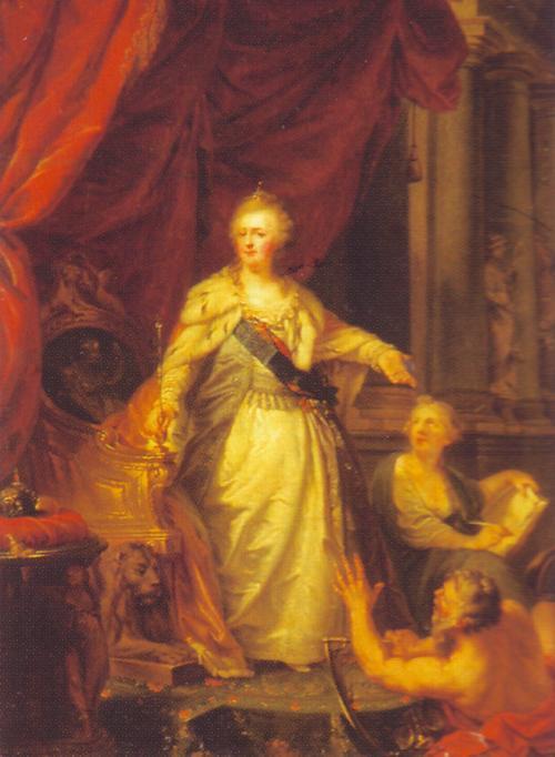 Catherine 1796 Федор Богневский Рус муз