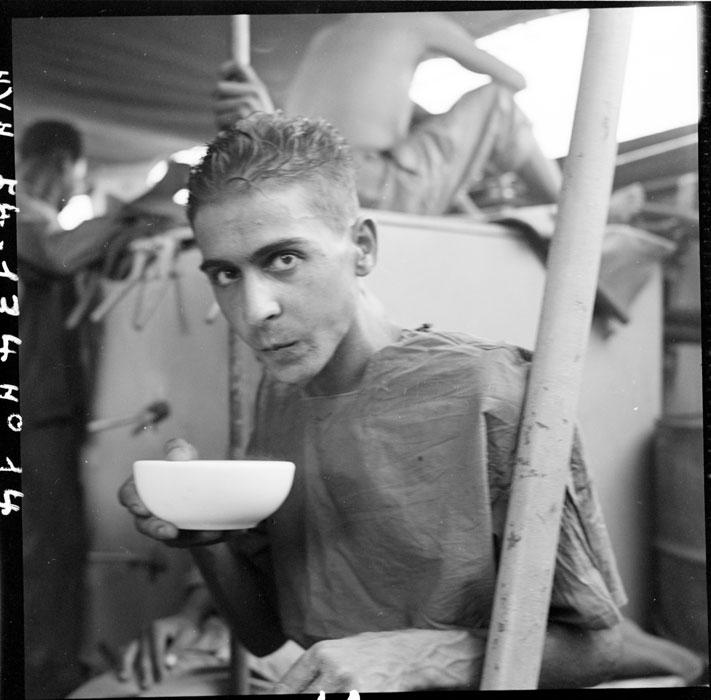 Фр пленный в Хайпонге авг 1954