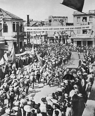 Вступление вьет армии в Ханой 10 10 1954