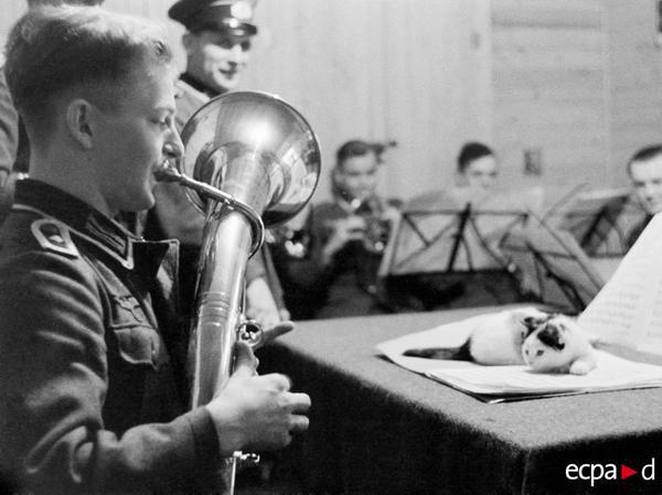 военный оркестр 1941