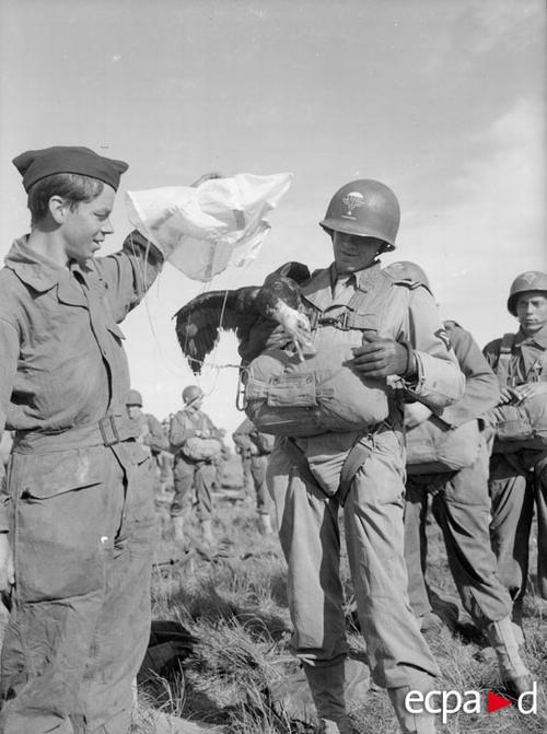 Рота й пар дес полка май 1945 Коллен