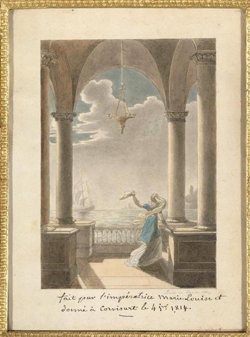 12 Сцена прощания 1814 мария Луиза Фонтенбло