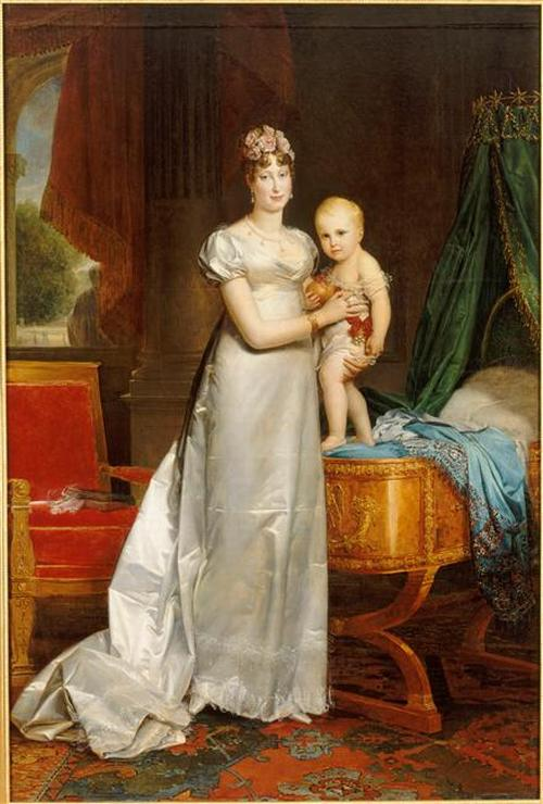 06 Императрица МЛ представляет короля Римского 1813 Жерар Версаль