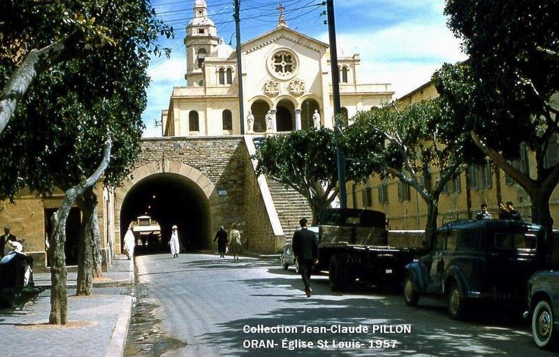 11 Оран церковь сен Луи 1957