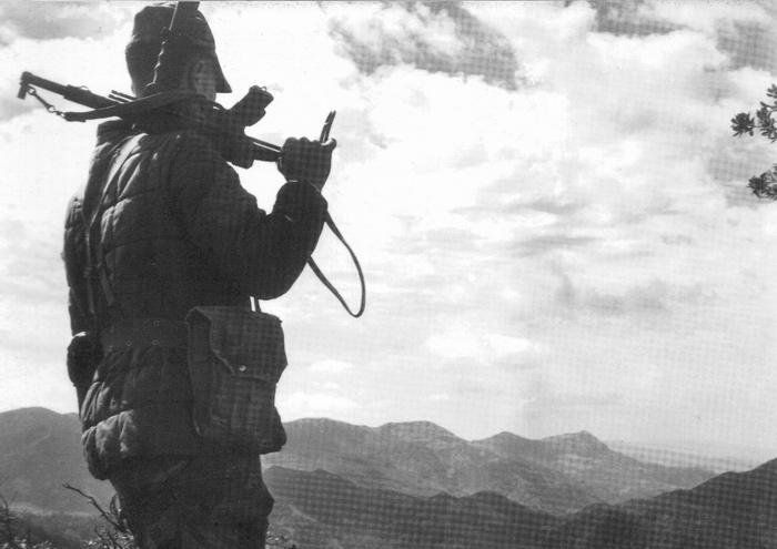 Солдат 3 пкп осень 1955