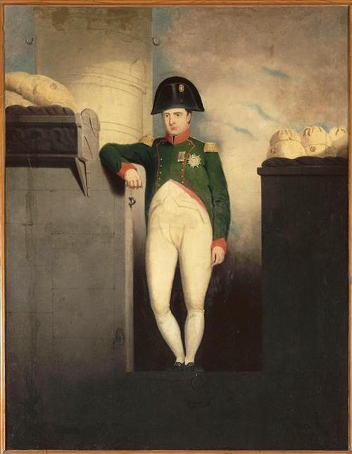 Наполеон на борту Белерефонта 19 в Неизв ор Ч Лок Eastlake Музей острова Экс