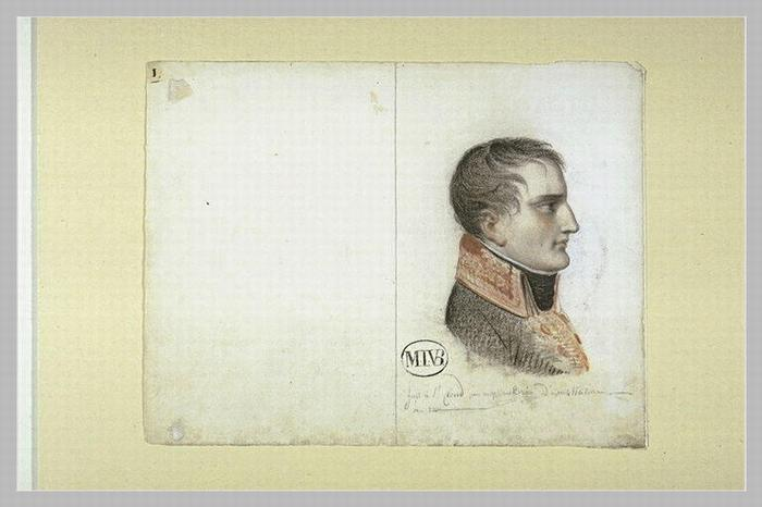 Наполеон Бонапарт 1 четв 19 в М И ван Брее Лувр