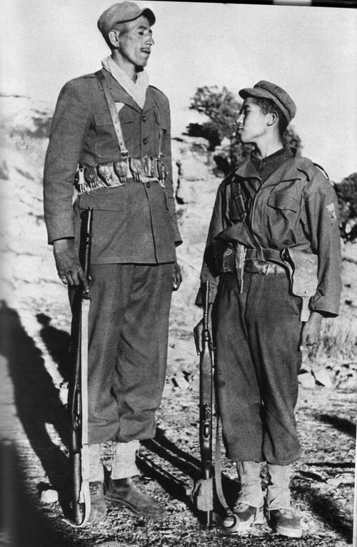 Отец и сын феллага 1957