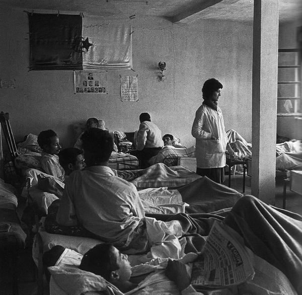 Тайный госпиталь в городе Алжир 1962