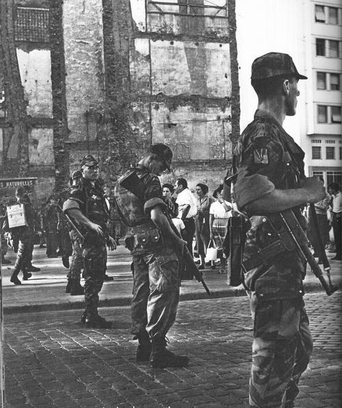 3 ПКП в городе Алжир 1957