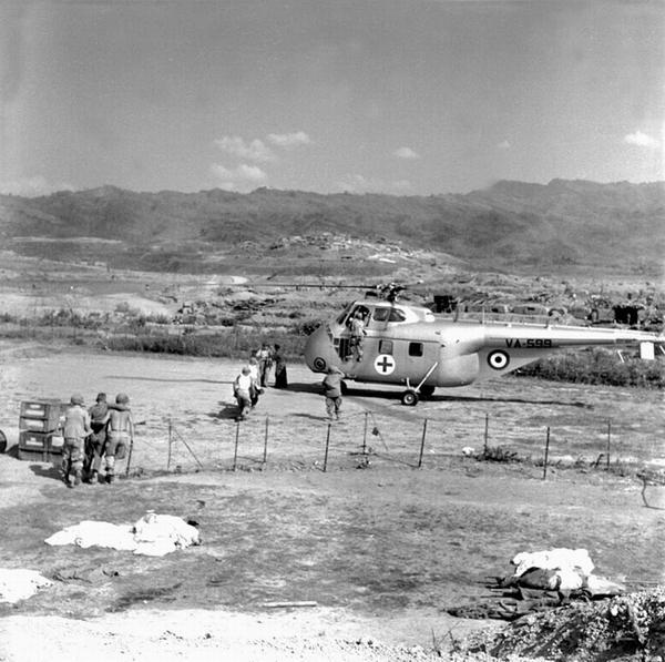 03 Эвакуация раненых март 1954 Дьенбьенфу