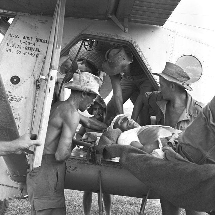 14 Эвакуация раненых май 1954