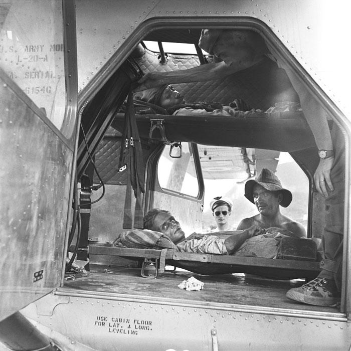 16 Эвакуация раненых май 1954 3