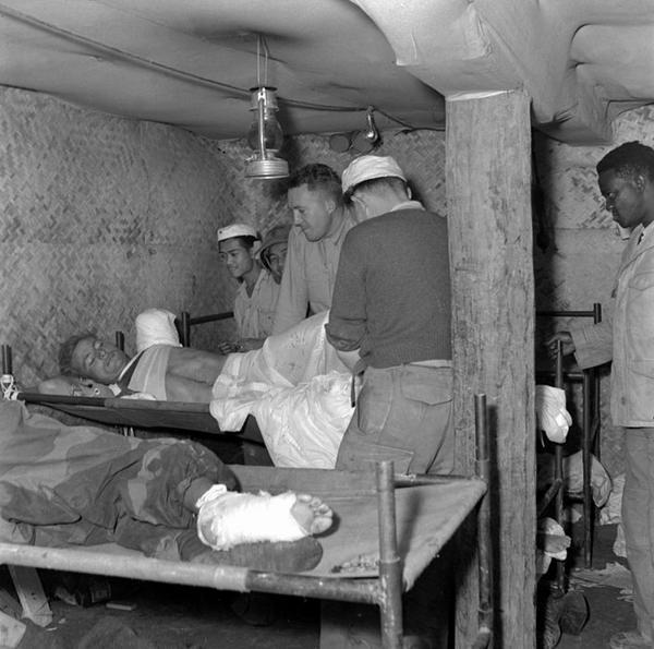 Подземный госпиталь Дьенбьенфу март 1954 3