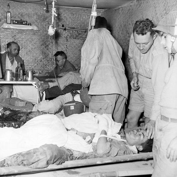 Подземный госпиталь Дьенбьенфу март 1954 2