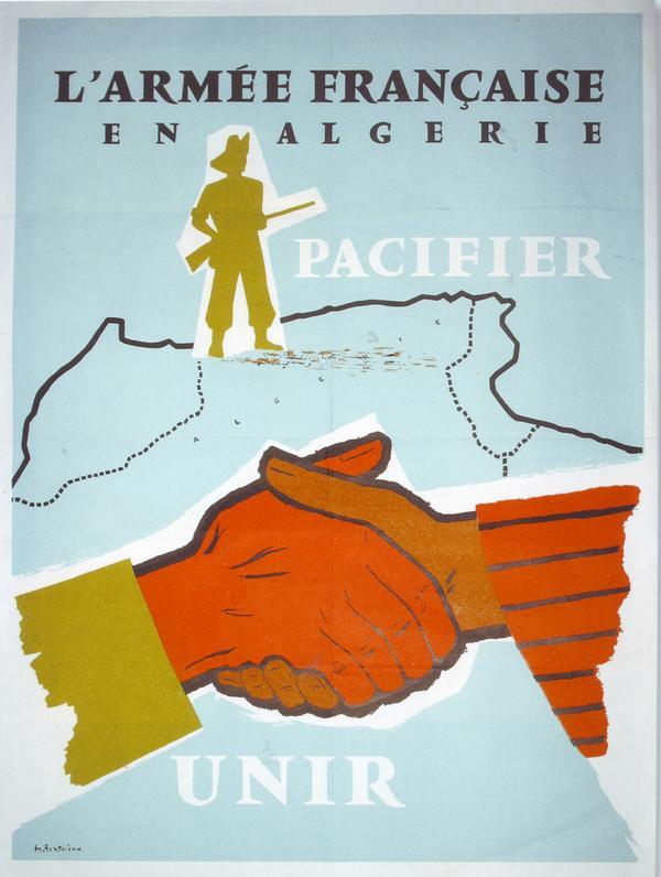Фр армия в Алжире умиротворить объединить