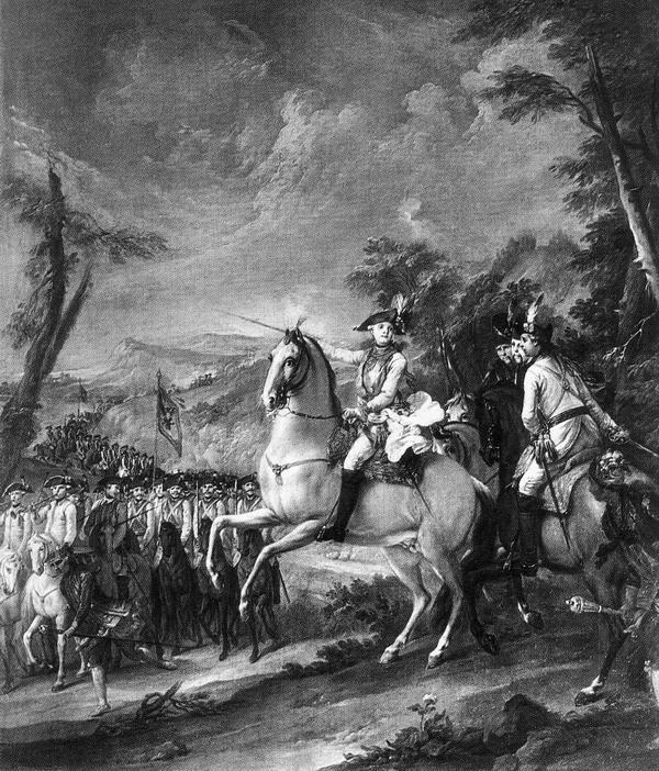 Paul 1778 1779 на маневрах л гв Кирасирского полка Торелли Павловск