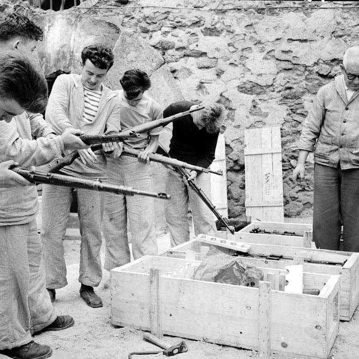 Винтовки Маузер с Лидис апр 1959