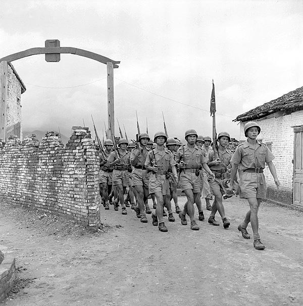 Индокитайские стрелки Тонкин 1950