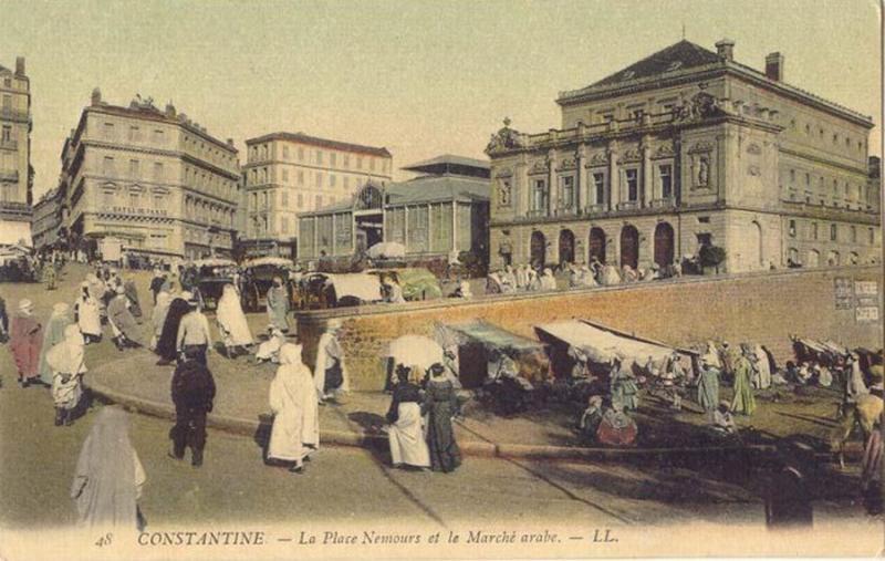 Константина пл Немур и ар рынок