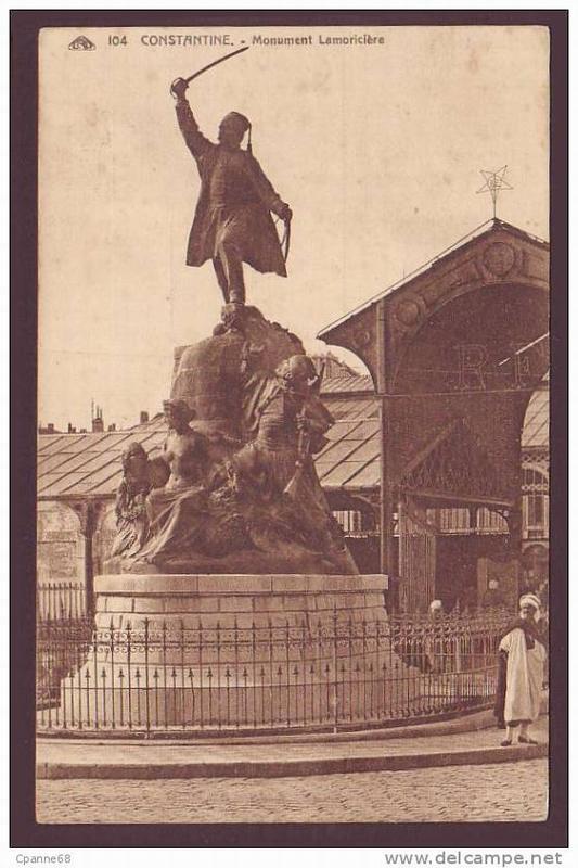 Константина памятник генералу Ламорисьеру