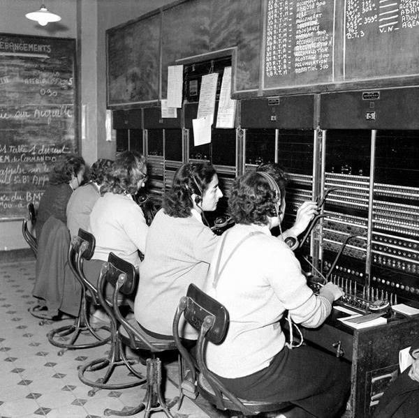 телефонистки 1954 Тонкин Д Камю