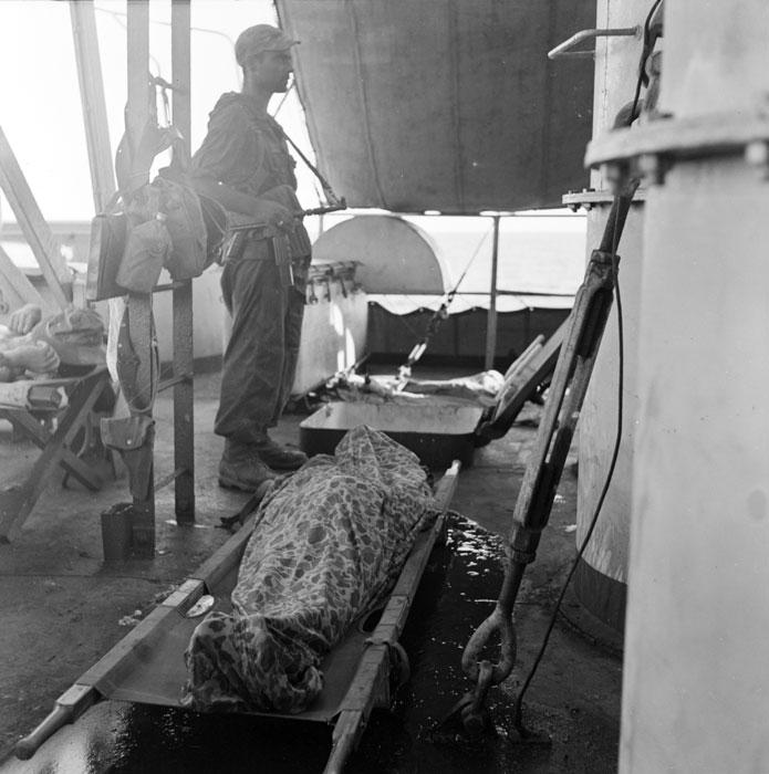 На борту судна один из парашютистов погибших от солн уд