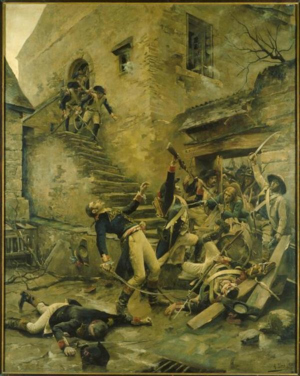 Смерть республ генерала Бопюи 1888 А Блош Ренн Муз из ис