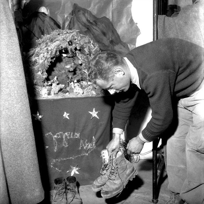 Алжир 29 дек 1959 Рожествов в Адраре Алжир 1959