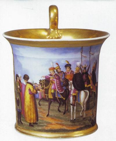 Дмитрий самозванец 1830-е чашка зав Батенина