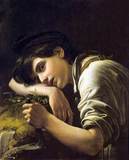 молодой садовник 1817 Кипренский