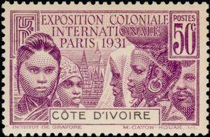 Колониальная выставка 1931 марка 2