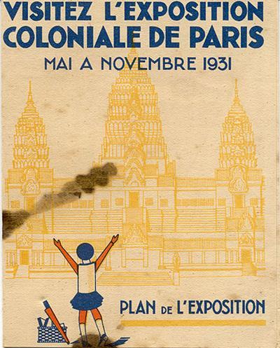 Колониальная выставка 1931 план